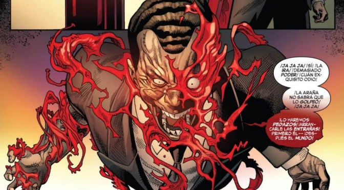 ¿The Red Goblin es mas Norman Osborn o Carnage ?