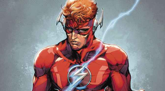 Barry Allen y Wally West se enfrentan en la primera página de The Flash War