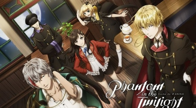 Anime Phantom in the Twilight transmite video promocional