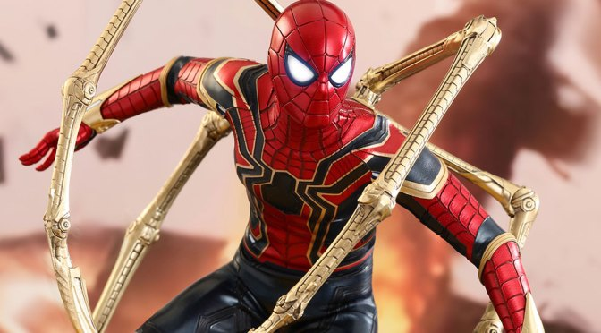 Comprar Spiderman Iron Spider 1/6 Marvel Hot Toys en pagos y crédito