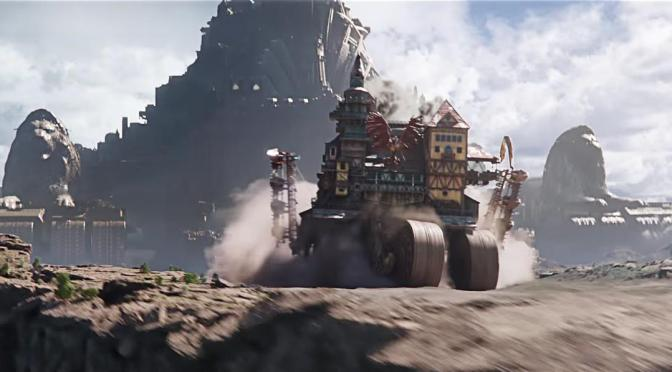 ¡Nuevo trailer de Mortal Engines!