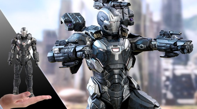 Comprar War Machine Mark IV 1/6 Avengers: Infinity War Hot Toys en pagos y crédito