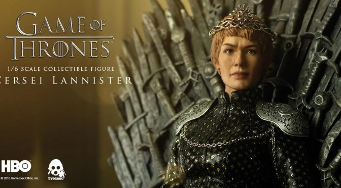 Disponible en preorden y compra -Cersei Lanister Game Of Thrones 1/6 Threezero-