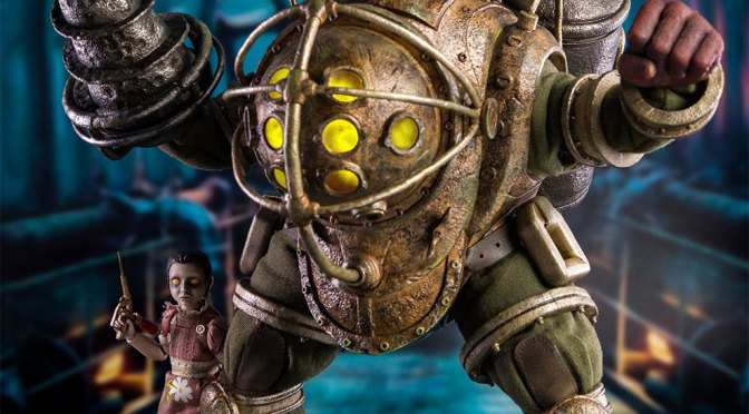 Disponible en preorden y compra: Big Daddy and Little Sister Bioshock 1/6 Threezero