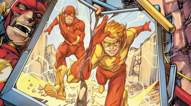 DC nos regresa un velocista en la conclusión de Flash War