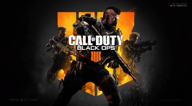 (c506) Call of Duty: Black Ops 4 – Beta Review