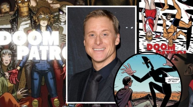 Alan Tudyk será Mr Nobody en Doom Patrol