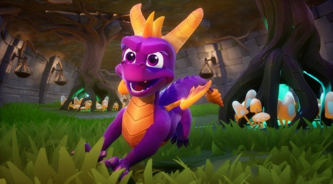 Spyro Reignited Trilogy presentó Gameplay