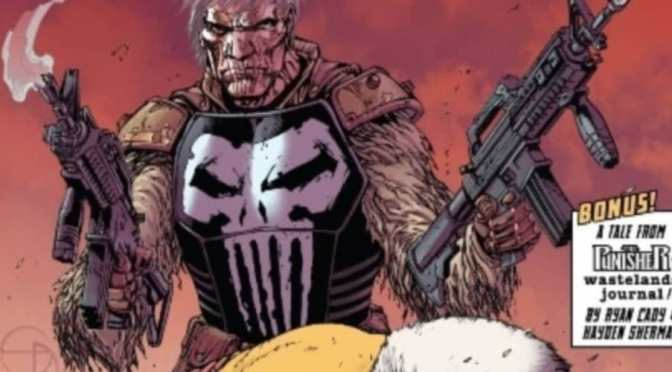 Marvel Comics nos muestra a Old Man Punisher