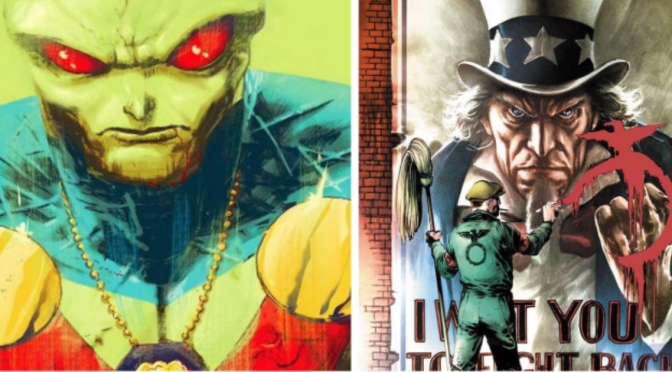 (C506) Dc sacará serie de 12 números de Martian Manhunter y Freedom Fighters