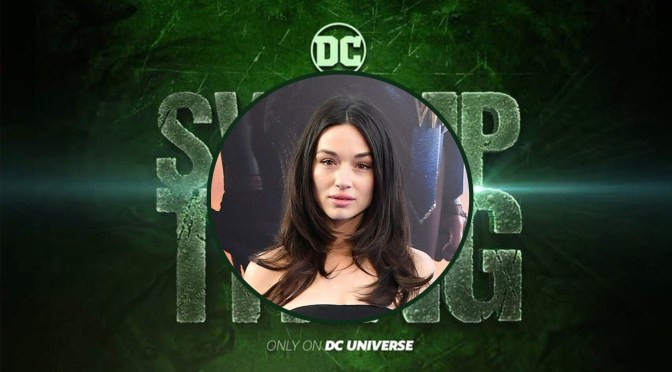 Crystal Reed será Abby Arcane en Swamp Thing