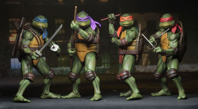 NECA´S Teenage Mutant Ninja Turtles line goes global!
