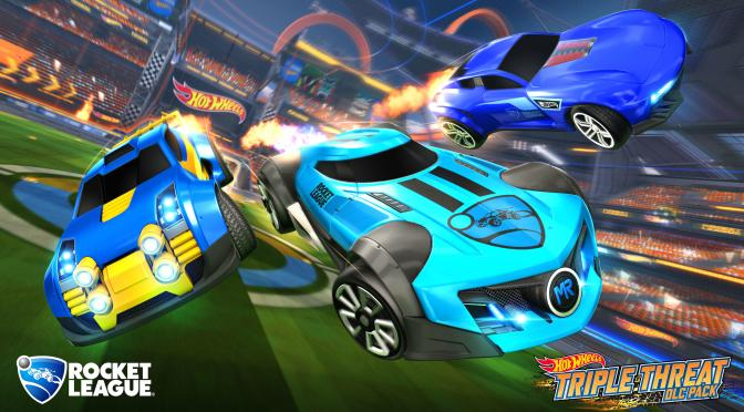 (C506) Nuevos autos de Hot Wheels llegan a Rocket League