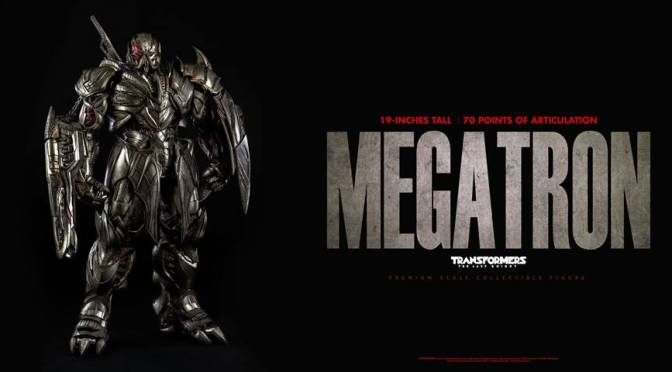 Megatron The Last Knight Premium Scale Collectible Threezero -Preorden disponible-