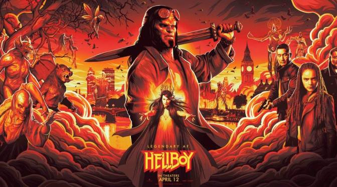 Se filtra el trailer de Hellboy Rise of The Blood Queen (NYCC)