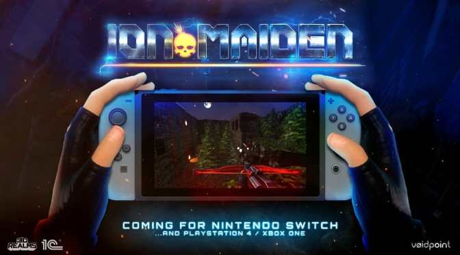 Ion Maiden llegarán a Nintendo Switch