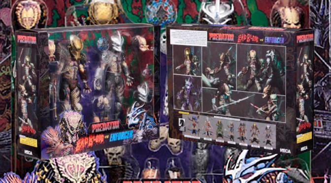 NECA revela el set de Ultimate Bad Blood vs. Enforcer Predator 2-Pack