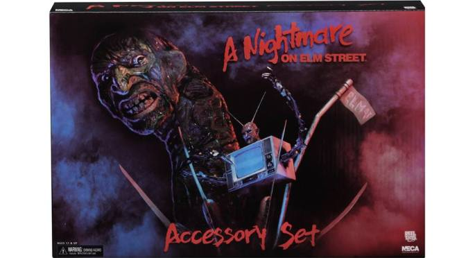 Final packaging photos of the upcoming A nightmare on elm street Accessory Set