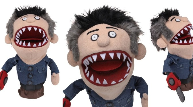 Ash vs Evil Dead Possessed Ashy Slashy Puppet is back for purchase