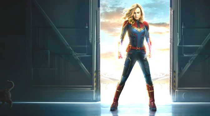 Brie Larson Reveals new Captain Marvel look