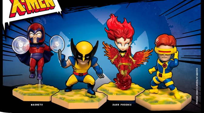 Marvel Comics' X-Men Egg Attack Beast Kingdom 4 Set – Preorder and Gallery info