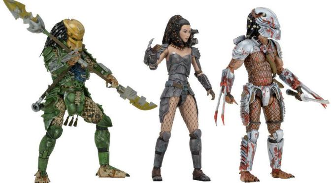 The Predator 7″ Action Figures Series 18 Assortment is on the NECA eBay & Amazon store!