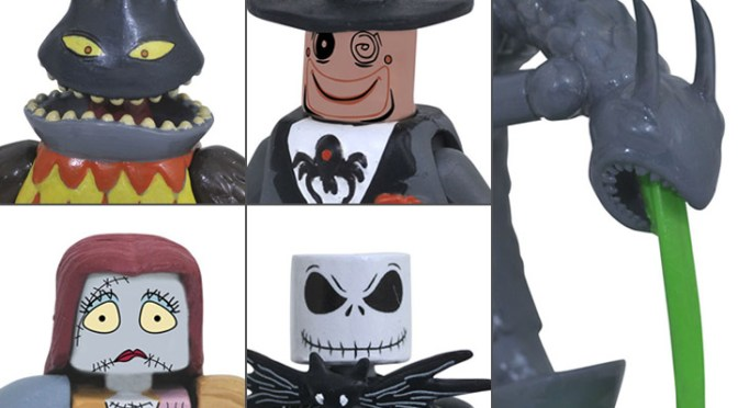 Nightmare Before Christmas Minimates from Diamond Select Toys