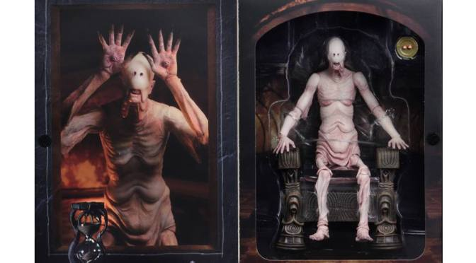 Final NECA packaging shots of The Pale Man Figure from Pan's Labyrinth!