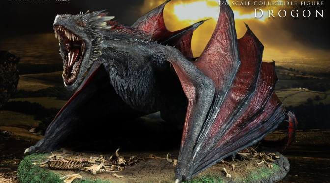 Galería ThreeZero: Drongon, Especial de Game of Thrones