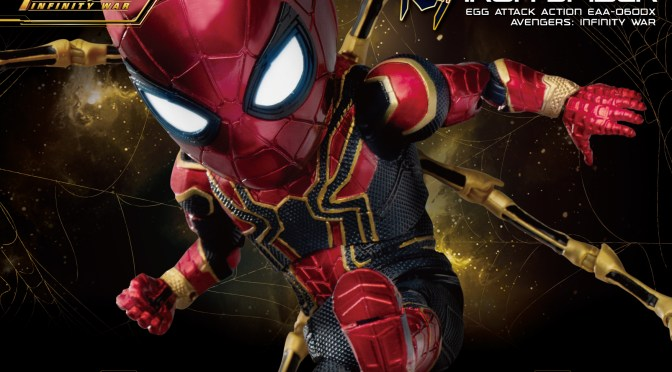 Preorder Information EAA-060DX Avengers : Iron Spider Deluxe Edition