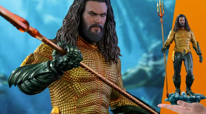 Preorder Now Aquaman 1/6 Figure Sideshow Hot Toys DC Aquaman MMS Movie