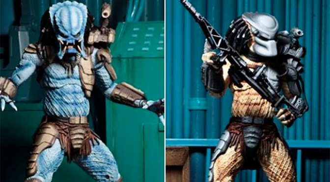 Mad Predator and Warrior Predator available on the NECA eBay & Amazon store