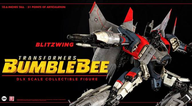Preorder Now Decepticon Blitzwing DLX Collectible Figure Series Threezero