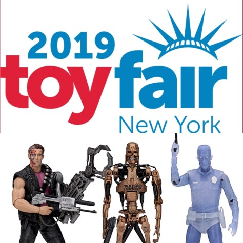 NY Toy Fair 2019- NECA Terminator Kenner Tribute