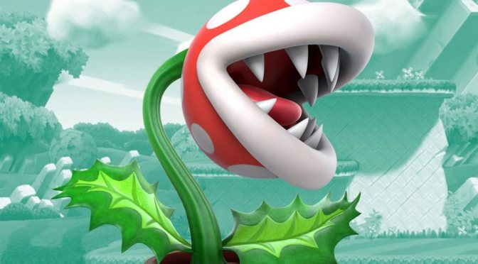 Piranha Plant ha llegado para luchar en Super Smash Bros. Ultimate