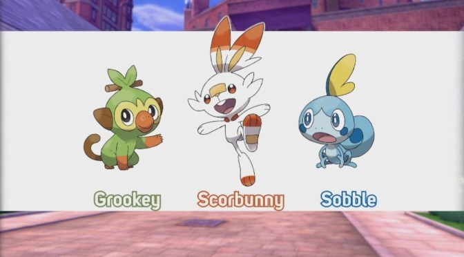 Estos son los starters de Pokémon Sword y Shield