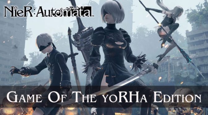 NIER: AUTOMATA GAME OF THE YORHA EDITION YA DISPONIBLE PARA PS4 Y STEAM