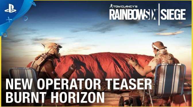 Mira el nuevo trailer de Rainbow Six Siege: Operation Burnt Horizon