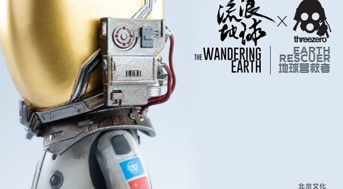 "Gallery: THREEZERO X THE WANDERING EARTH ""EARTH RESCUER"" 10CM Q VERSION PVC COLLECTIBLE FIGURE"