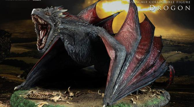 The pre-order sales for both Game of Thrones 1/6 Drogon and 1/6 Brienne of Tarth  Is close to an end