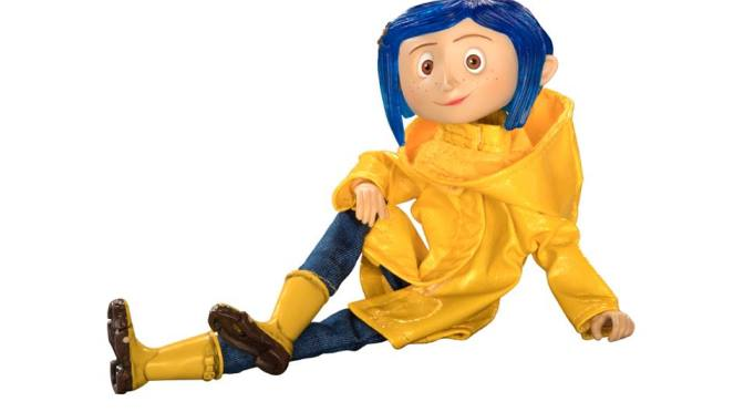 Bring home a piece of its fun and spooky magic with these 7″ Coraline figures courtesy of NECA
