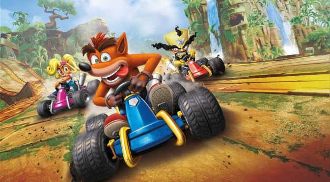 Conoce a los personajes de Crash Team Racing Nitro-Fueled