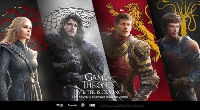 Game Of Thrones Winter is coming launches worldwide