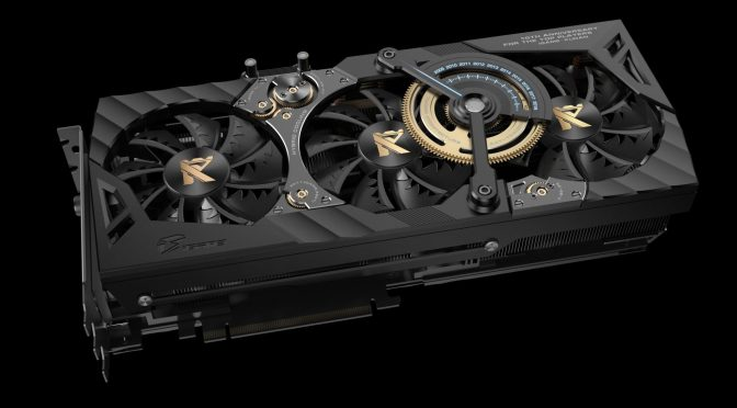 "El monstruo de Colorful ""GeForce RTX 2080 Ti KUDAN"""