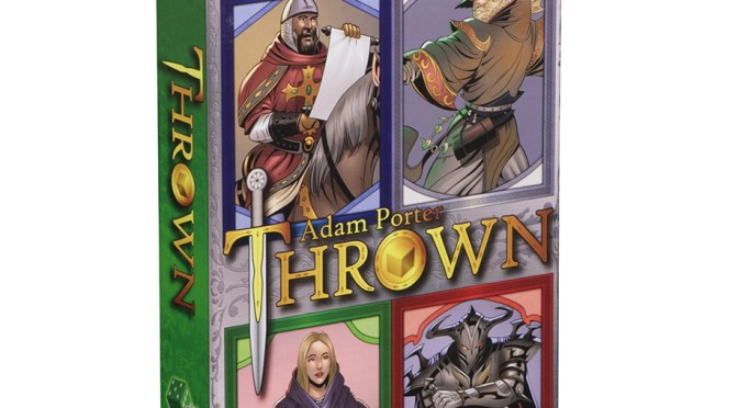 WizKids! Boardgames: Trick Your Way to Glory in Thrown — Available Now!