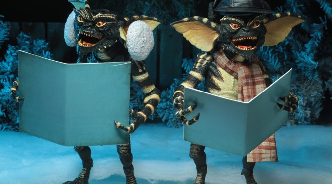 "Gremlins – 7"" Scale Action Figure – Christmas Carol Winter Scene 2-Pack"