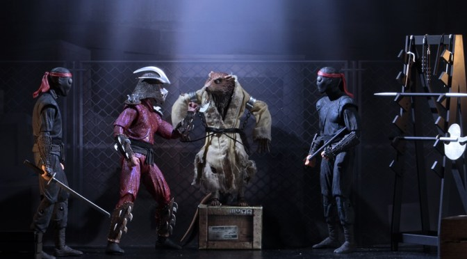 "Exclusive Reveal: Teenage Mutant Ninja Turtles (1990 Movie) – 7"" Scale Action Figure – ""The Capture of Splinter"" 4-Pack!"