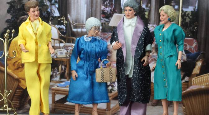 NECA shows a gallery for Golden Girls figures before release!