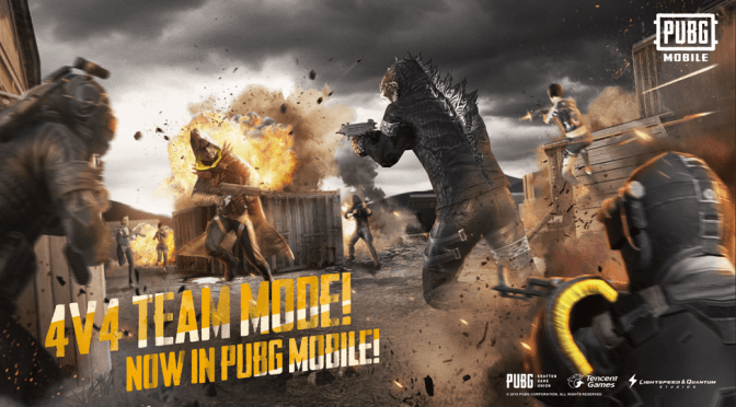 El modo 4V4 Team Deathmatch Evolution ya está en PUBG Mobile