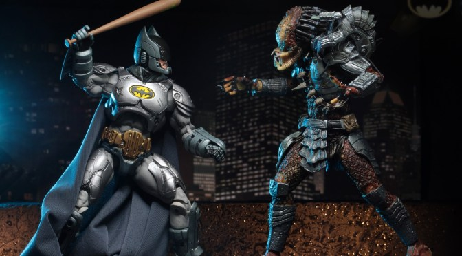 "DC Comics/Dark Horse Comics – 7"" Scale Action Figures – Batman vs Predator 2-Pack"